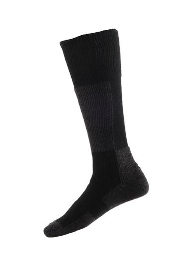 Panthzer  Ski Socks Siyah/Antrasit Siyah